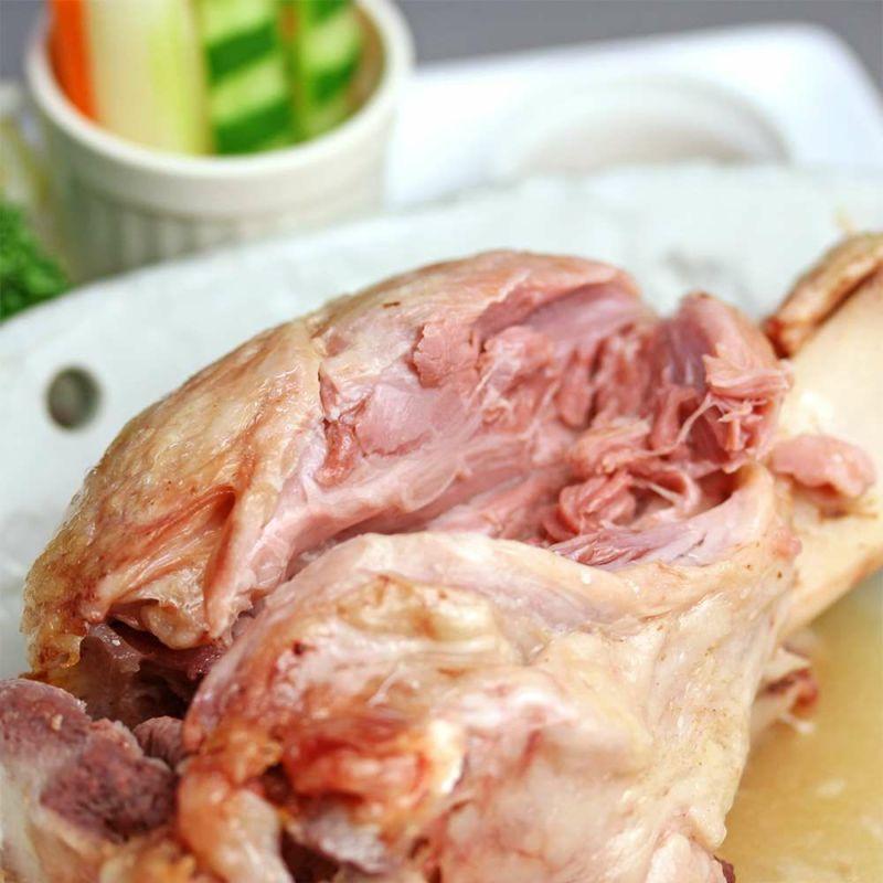 アイスバイン ポトフ 豚すね肉 骨付きハム